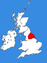 Areas of Anglian INfluence