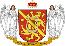 Coat of arms of the Gabriel R Langley Conservatorium of the Performing Arts