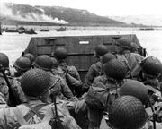 D-day-landing-june-1944-omaha-beach-in-normandy-france