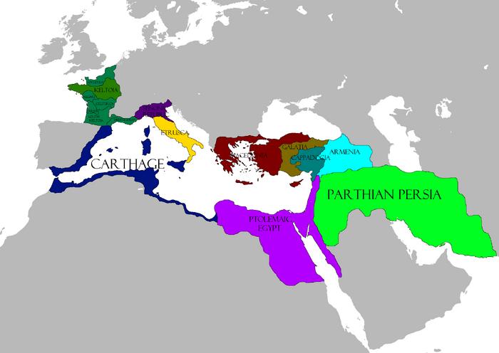 3rd century map VV2