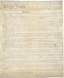 Constitución Estados Unidos