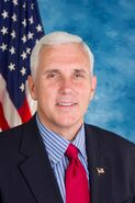 Mike Pence, official portrait, 112th Congress
