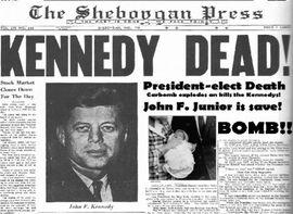 ZeitungJFKDeath1960
