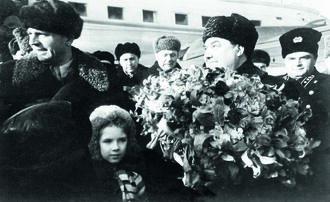 Маленков в Оренбурге