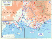 Operation Dragoon - map