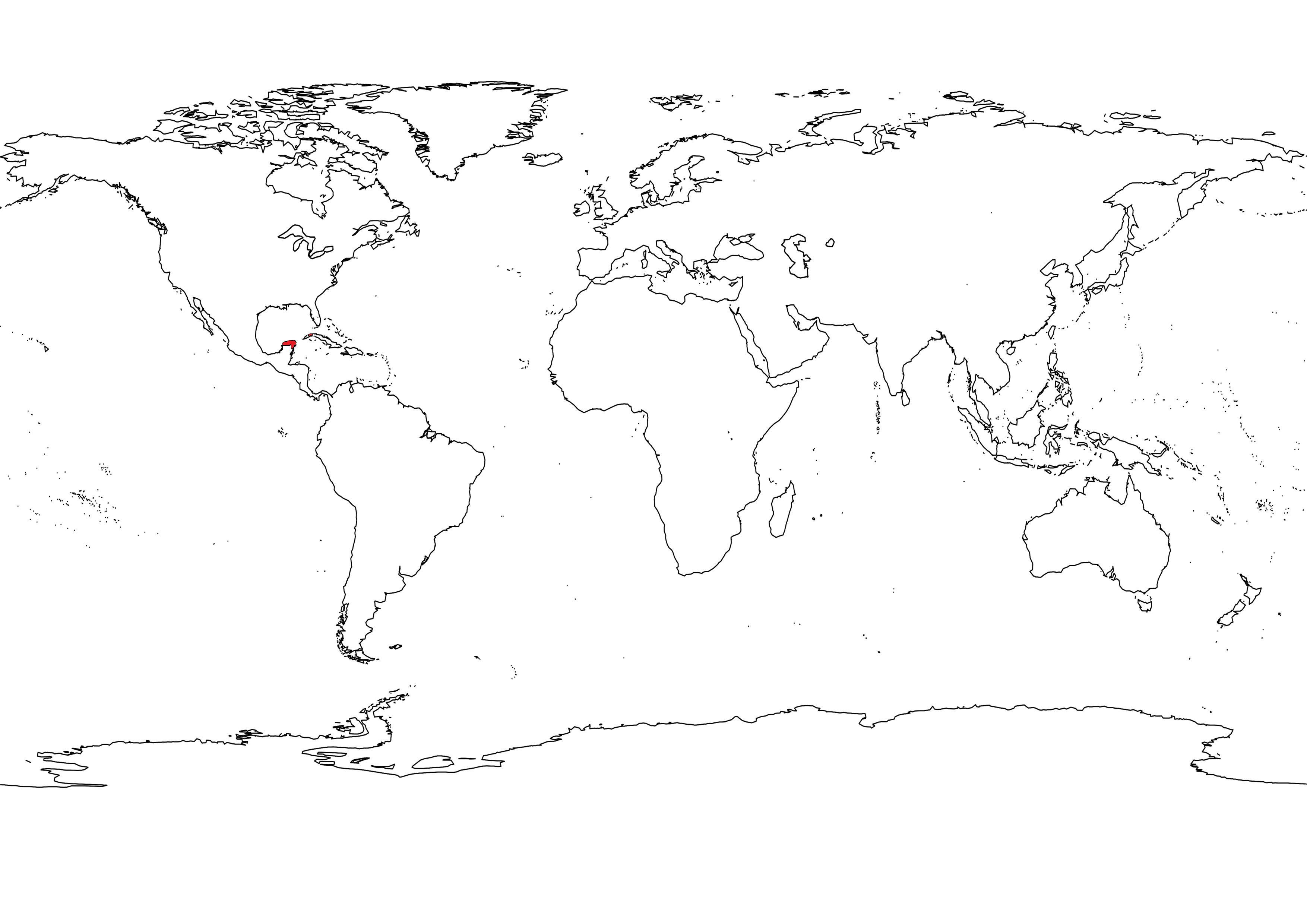 Image outline black white world map2g alternative history outline black white world map2g gumiabroncs Choice Image