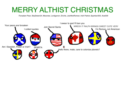 Secret Santa Polandball