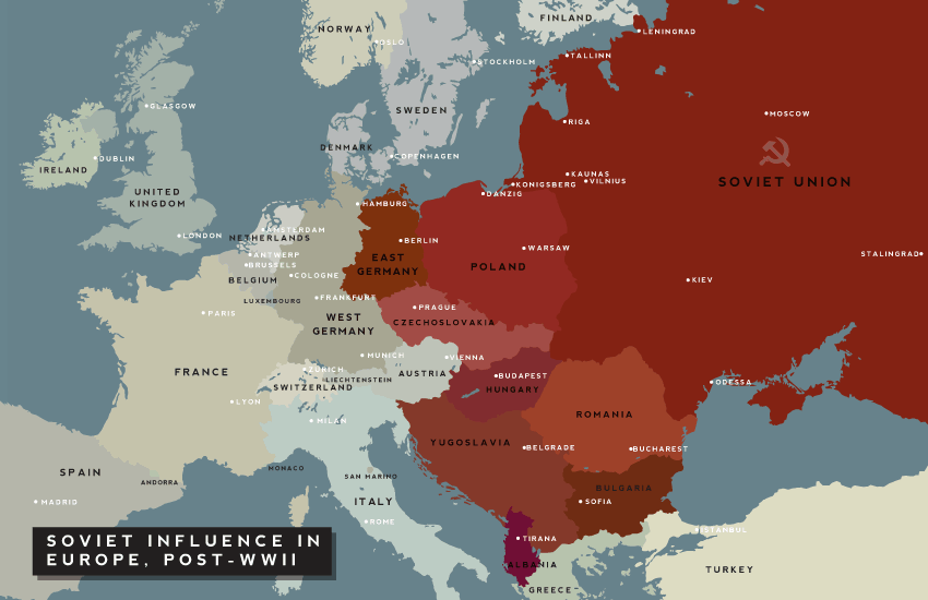 Exceptional Soviet Influence In Europe. Soviet Influence Immediately After WW2.