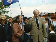 Valdés en campaña