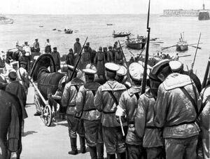 Кадр из фильма «Оборона Севастополя»