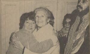 Mireya Baltra y Julieta Campusano