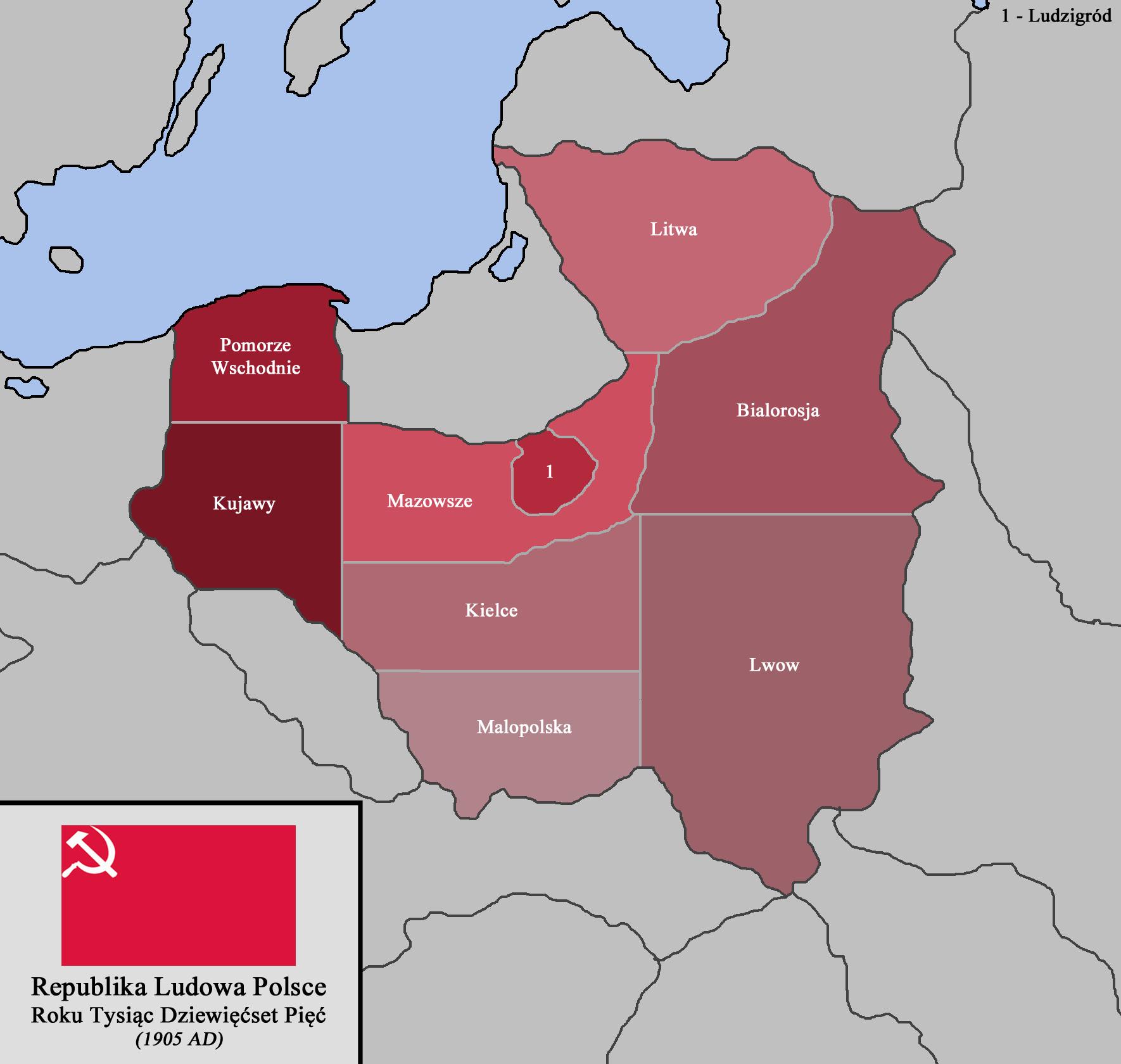 Poland Principia Moderni Iii Map Game Alternative History