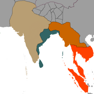 Second Great War of India Map