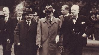 Черчилль в Москве