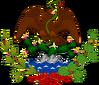 Escudo de la Primera República Federal de los Estados Unidos Mexicanos