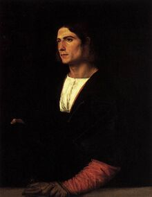 Titian - Young Man with Cap and Gloves - WGA22933