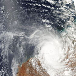 Tropical Cyclone Laurence on December 21, 2009