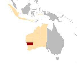 Cygnian states locator map NC