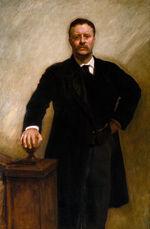 John Singer Sargent - Theodore Roosevelt - Google Art Project