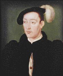 Portrait du Francis II of France.