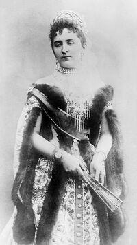 Princess Anastasia of Montenegro 1916