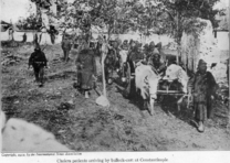 With the conquered Turk (1913) cholera patients arriving