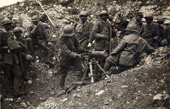 Итальянские войска под Изонцо