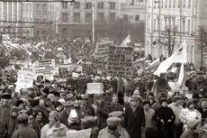 Митинг сторонников реформ