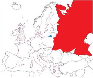 aMapa (z Rosją Europejską)