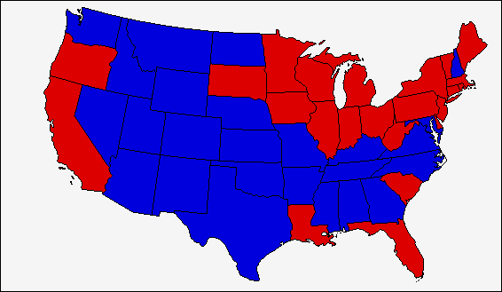 Image United States Presidential Election Map Similar Yet - Us map red png