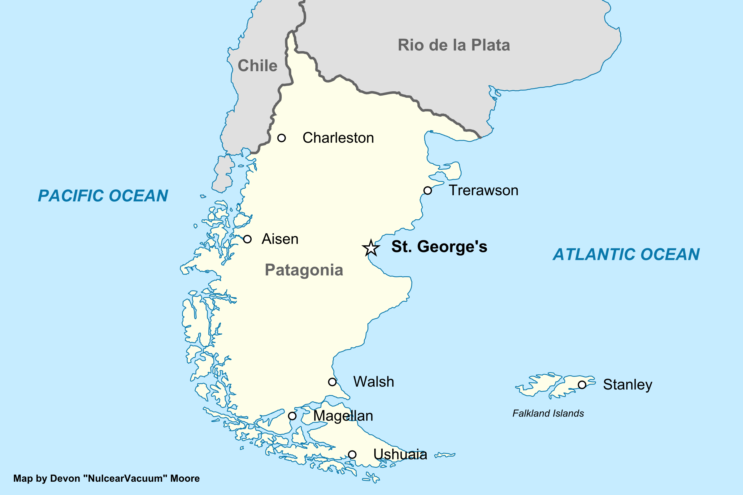 map of patagonia ( fallen stars)png. image  map of patagonia ( fallen stars)png  alternative