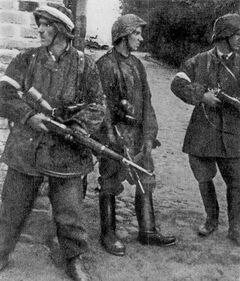 Mob Soldiers in Army Gear