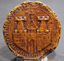 Seal City of Hamburg 1241 replica