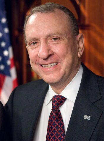 File:Arlen Specter, official Senate photo portrait.jpg
