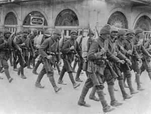 Ottoman troops