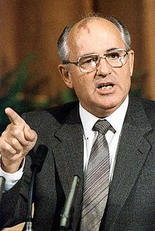 RIAN archive 359290 Mikhail Gorbachev