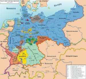 Deutsches Reich map