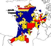 Francia w. Flags (The Kalmar Union)