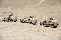 German ATF Dingo vehicles in Afghanistan, 2011