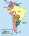 Mapa Político de Sudamérica (PP)