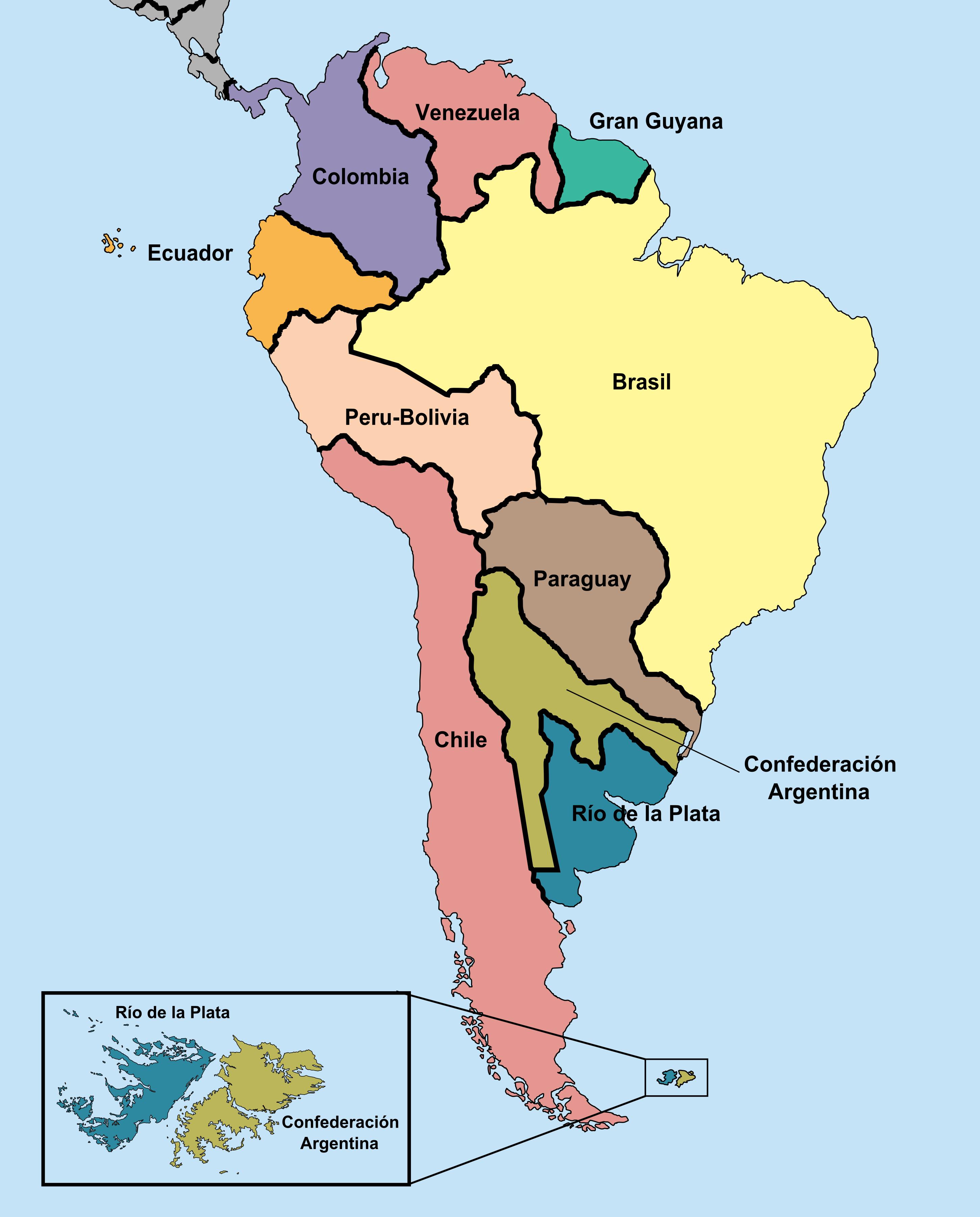 Image mapa poltico de sudamrica ppg alternative history mapa poltico de sudamrica ppg sciox Choice Image