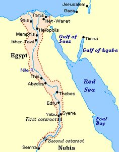 Middle Kingdom Of Egypt Many Wonderful Things Alternative - Map of egypt during the middle kingdom