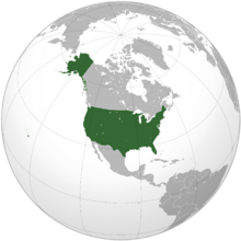 United States (orthographic projection)