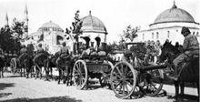 Возвращение турецких солдат в Стамбул