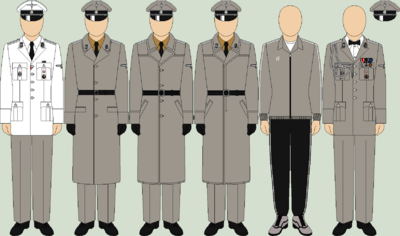 Die ss undress uniforms