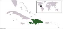 LocationHispaniola