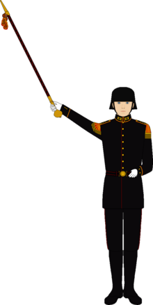 Nationalgarde (Majorparade- uniform)