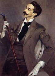 Президентский портрет Кристиана Маркеса