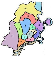 Distritos de Saigón (Armisticio en Vietnam)-1