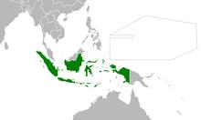 Location of Indonesia (Myomi)